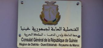 Guinea Opens a Consulate General in Dakhla